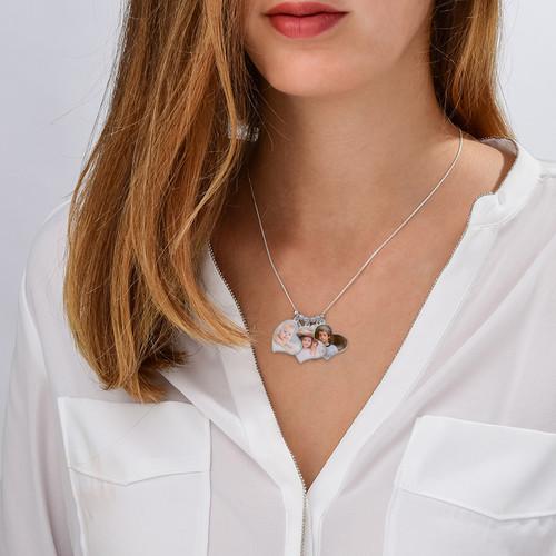 Multiple Photo Charm Necklace - 3