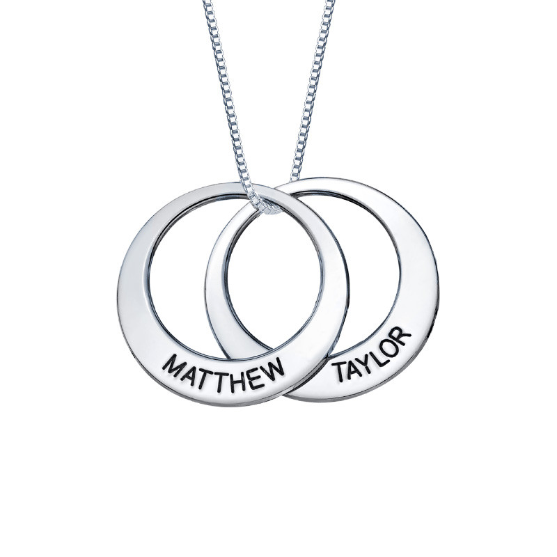 Multiple Ring Necklace - 2