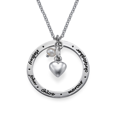 Personalised Mum Jewellery in Silver