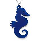 Seahorse Necklace in Acrylic