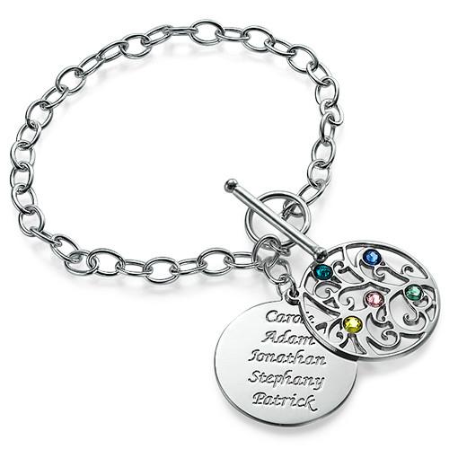 Silver Tree of Life Bracelet - Filigree Style