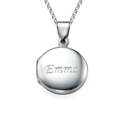 Sterling Silver Personalised Locket