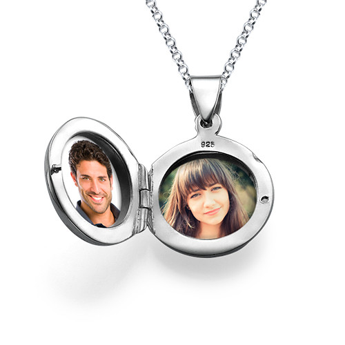 Sterling Silver Personalised Locket - 2