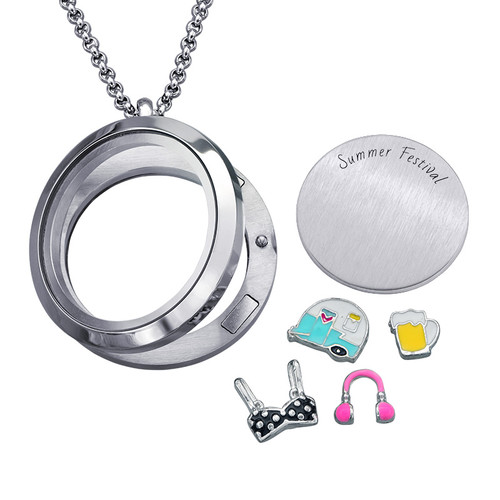 Summer Festival Floating Locket - 1