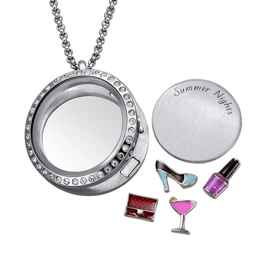 Summer Nights Floating Locket - 1