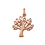 Tree Charm - Rose Gold Plated