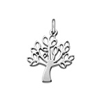 Tree Charm - Silver