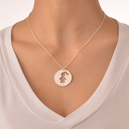 Unique Gift for Mum - Mother Daughter Necklace Set - 3