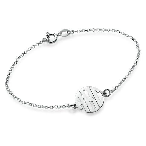 Xtra Small Block Monogram Bracelet