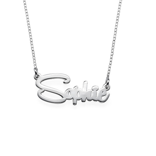 Say My Name Personalized Necklace
