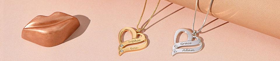 Diamond Name Necklaces