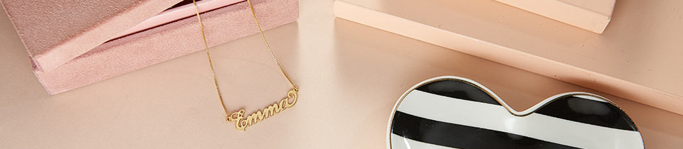 Name Necklaces Collection