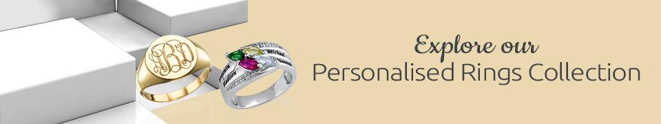 Personalised Rings