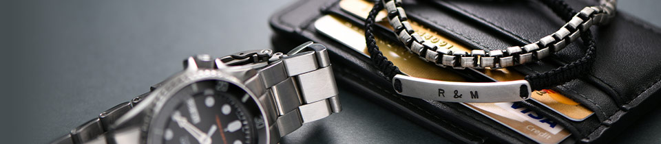 Personalized Men Jewelry more than £50