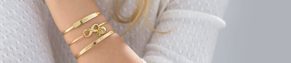 Personalised Bangle Bracelets
